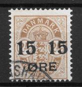 Danmark  - AFA 41z - stemplet