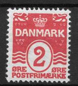 Danmark  - AFA 43y - ustemplet