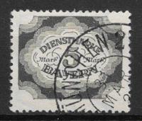 Bavière 1920 - AFA Tj. 61 - Obliteré