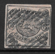 Braunschweig 1853 - AFA 8 - Obliteré