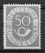 Germania Ovest 1951 - AFA 1097 - nuovo linguellato