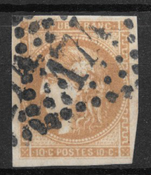 Francia 1870 - AFA 40 - timbrato