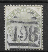 England 1883 - AFA 78 - stemplet