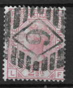England 1873 - AFA 40 - stemplet