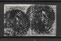 Belgien 1849 - AFA 3a - stemplet