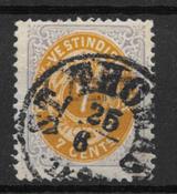 D.V.I. 1873 - AFA 8 - stemplet