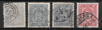 Danimarca 1875 - AFA Tj 4-6 - timbrato