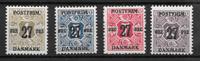 Danmark 1918 - AFA 85x-89x - postfrisk