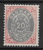 Danimarca 1875 - AFA 28y - nuovo linguellato