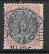 Danimarca 1879 - AFA 24 - timbrato