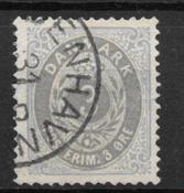 Danimarca 1875 - AFA 22a - timbrato
