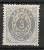 Danimarca 1875 - AFA 22a - nuovo linguellato