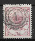 Danimarca 1864 - AFA 12 - timbrato