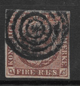 Danimarca 1851 - AFA I - timbrato