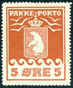Grønland pakkeporto AFA 2 postfrisk