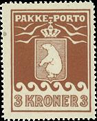 Grønland pakkeporto AFA 12 ubrugt