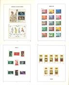 Divers pays - Collections en 7 albums Davo avec étui