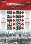 Great Britain - Trade Union Congress - Mint sheetlet