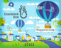 Ungarn - Luftballon - Postfrisk miniark