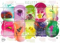 Nederland - Insecten - Postfris velletje van 10