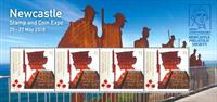 Australien - Newcastle show - Postfrisk miniark