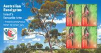 Australien - Israel Show - Postfrisk miniark