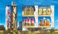 Australie - Art silo - Bloc-feuillet neuf