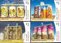 Australien - Silo kunst - Postfrisk sæt 4v