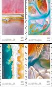 Australie - Art dans la nature - Série neuve 4v