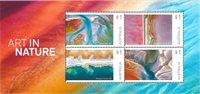 澳大利亚新邮 自然的艺术 绘画 自然 - 新票小全张