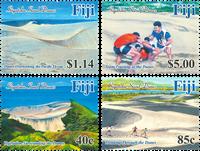 Îles Fidji - Dunes de sable - Série neuve 4v