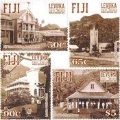 Fiji - UNESCO Verdensarv - Postfrisk sæt 4v