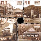 Îles Fidji - Héritage mondial Unesco - Série neuve 4v