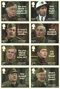 外国邮票 英国邮票 2018 新邮 老爸上战场 电影 喜剧 电视剧 - 新票套票8枚