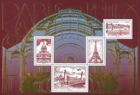 Frankrig - Philex 2018 - Postfrisk udstillingsminiark