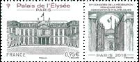 Frankrig - Filatelist kongres 2018 - Postfrisk frimærke graveret