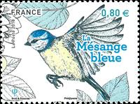 France - Mensange bleue - Timbre neuf