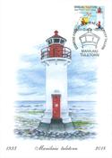 Estland - Mainlaid Fyrtårn - Maximumskort