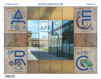 Belgique - Musée africain - Feuillet neuf
