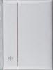 Indstiksbog sølv A4 - 64 sorte sider - Leuchtturm
