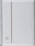 Säiliökirja hopea A4 - 64 mustaa sivua