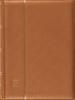 Indstiksbog bronze A4 - 64 sorte sider - Leuchtturm