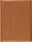 Stockbook bronze - A4 - 64 white pages