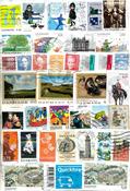Danimarca - francobolli a peso - 250 g