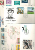 Various countries - Duplicate lot first day covers
