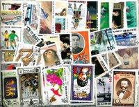 750 francobolli differenti Corea del Nord