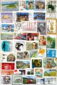 Francobolli mondiali a peso  - 250 g