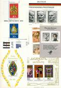 Länsi-Saksa - Postituoreita pienoisarkkeja