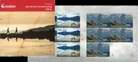 Norge - Turistforening - Postfrisk hæfte 10 x 14 kr