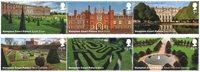 外国邮票 2018英国新邮 - 汉普顿宫 6枚套票 - 新票套票6枚